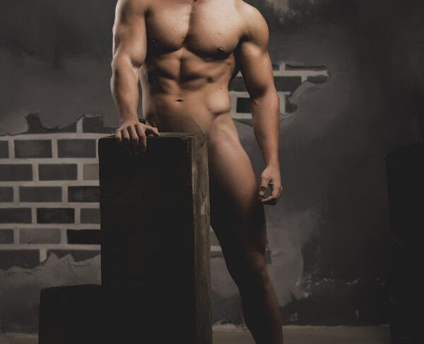 Gay Animal Hot Posing