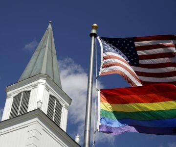LGBT USA FLAG